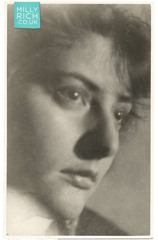 Milly Rich aged 22 years old, photograph 1939