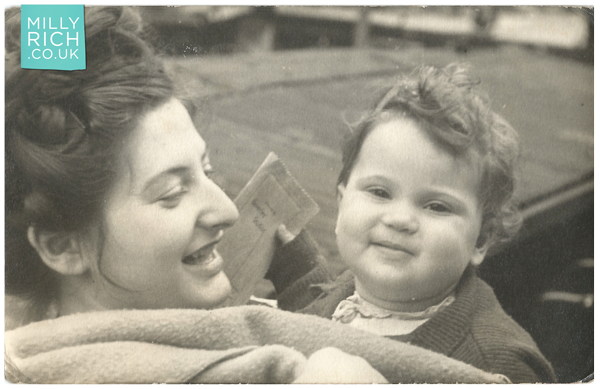 Milly & Shula Rich photograph, 1948