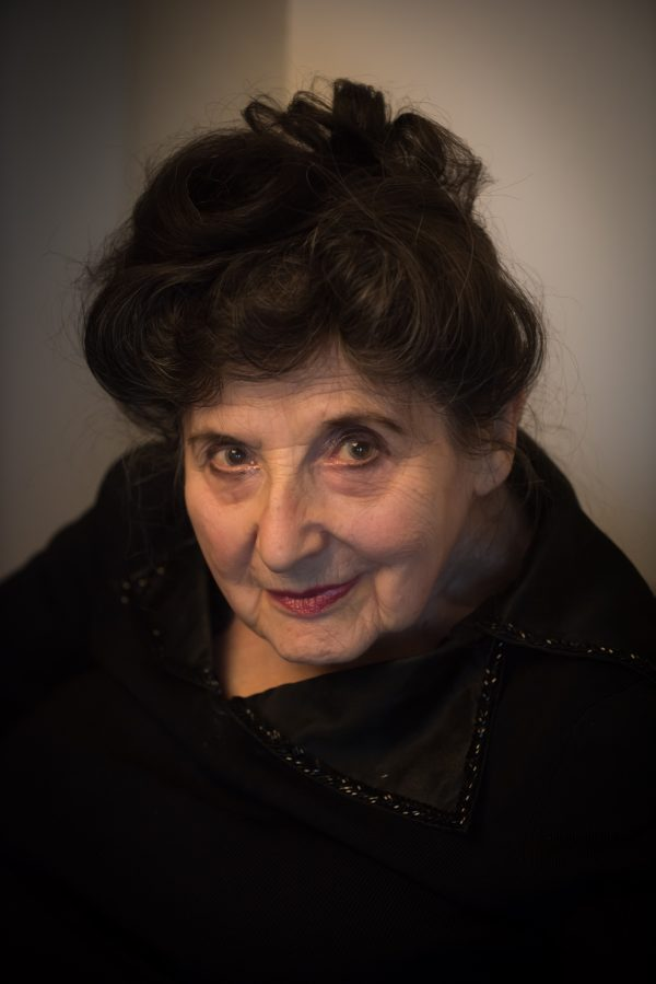 Millie Rich, 97 years old, 2015 photograph